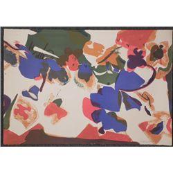 Nancy Genn Signed Artist Proof Print Modern Abstract