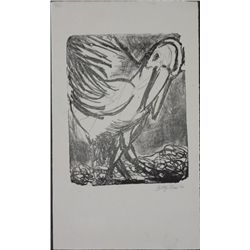 Betty Snyder Rees Original Signed Print -Pelican