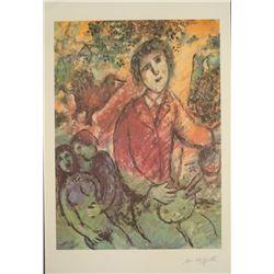 Chagall Artist Interpretation Ltd Ed Numberd Art Print