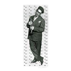 William Gottlieb Signed Art Print-Bebop,Dizzy Gillespie