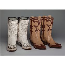 Two Pair of Dale Evans' Boots