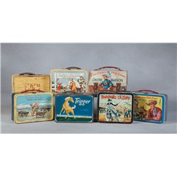 Lot of 7 Lunchboxes and 2 Life Magazines from the Roy Rogers and Dale Evans Museum