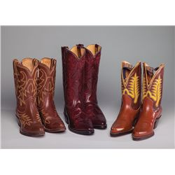 Three Pair Dale Evans' Boots