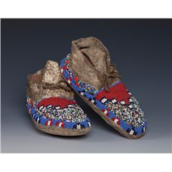 Sioux Youth Moccasins