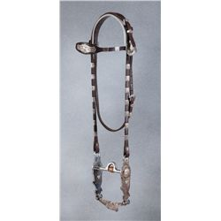 Les Garcia Headstall with Eagle Bit
