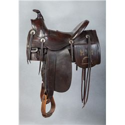 Early 1900s R. T. Frazier half-seat Saddle