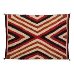 "Navajo Textile 94"" x 66"""