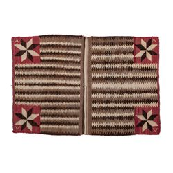"""Navajo Saddle Blanket 58.5"""" x 39.5"""""""