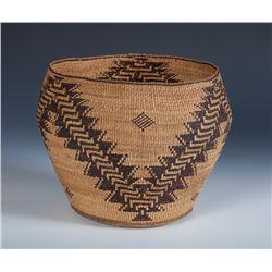 "Northern California Basketry Bowl ""Hat Creek"""