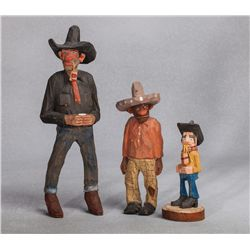 Andy Anderson & Todocio Valdez Carvings