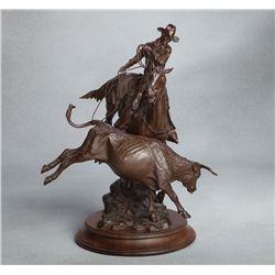Pat Haptonstall, bronze