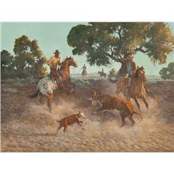 Nicholas Firfires, oil on canvas