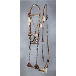 Walla Walla Penitentiary Made Horsehair Bridle