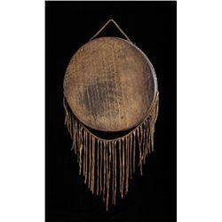 Assiniboine Ceremonial Hide Drum