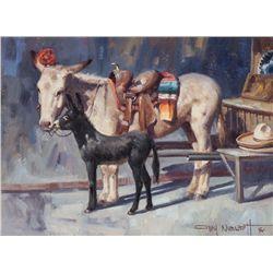 Gary Niblett, oil on canvas