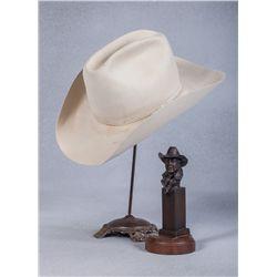 Ben Johnson's Personal Cowboy Hat & Photo