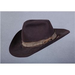 """Harry Carey, Jr.'s Hat from the film, """"The Undefeated"""""""