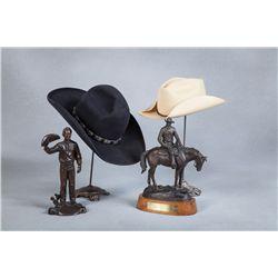Harry Carey, Jr. Cowboy Hats, Photos, Bronzes