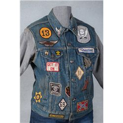 """Red's Motorcycle Vest from """"Mask"""" (1985 film)"""