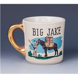 "John Wayne ""Big Jake"" Coffee Mug Presented to Harry Carey, Jr."