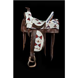Sioux Beaded Saddle Cover