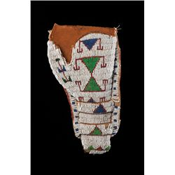 Northern Plains Beaded Holster