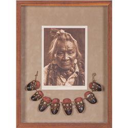"""Elk Dew Claw Necklace """"Half Moon"""""""