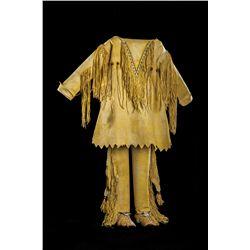 Kiowa Boy's Beaded Outfit