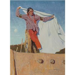 John Moyers, oil on canvas
