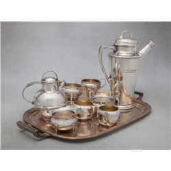 C. B. Irwin Y6 Brand Personalized Silverware, Stemware, Serving Pieces, Coffee Service and Miscellan