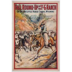 Y-6 Ranch Movie Lithographs