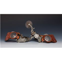 L & M (Lytle & Mower) Oversized Spurs