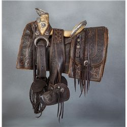 Regal 1890s Mexican Silver Saddle