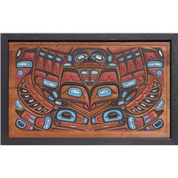 Haida Story Board by Mili Johnson