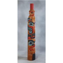 Don Lelooska Totem Pole