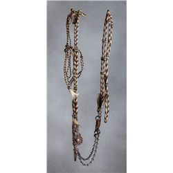 Natural Horsehair Bridle with California Bit