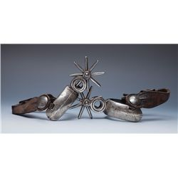 Two Pair of Mexican Spurs