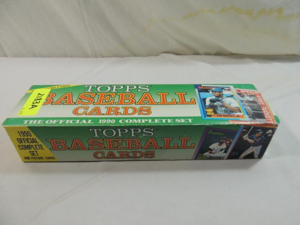1990 Topps Baseball Card Complete Factory Set