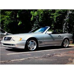 NO RESERVE! 1998 MERCEDES BENZ SL500 AMG CONVERTIBLE