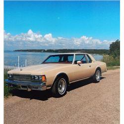 1977 CHEVROLET CAPRI CLASSIC