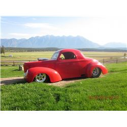 1941 CUSTOM WILLYS SHOW CAR