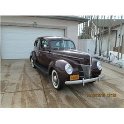 1940 FORD FORDOR DELUXE - FRAME OFF RESTORATION