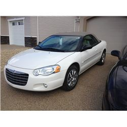 2005 CHRYSLER SEBRING CONVERTIBLE