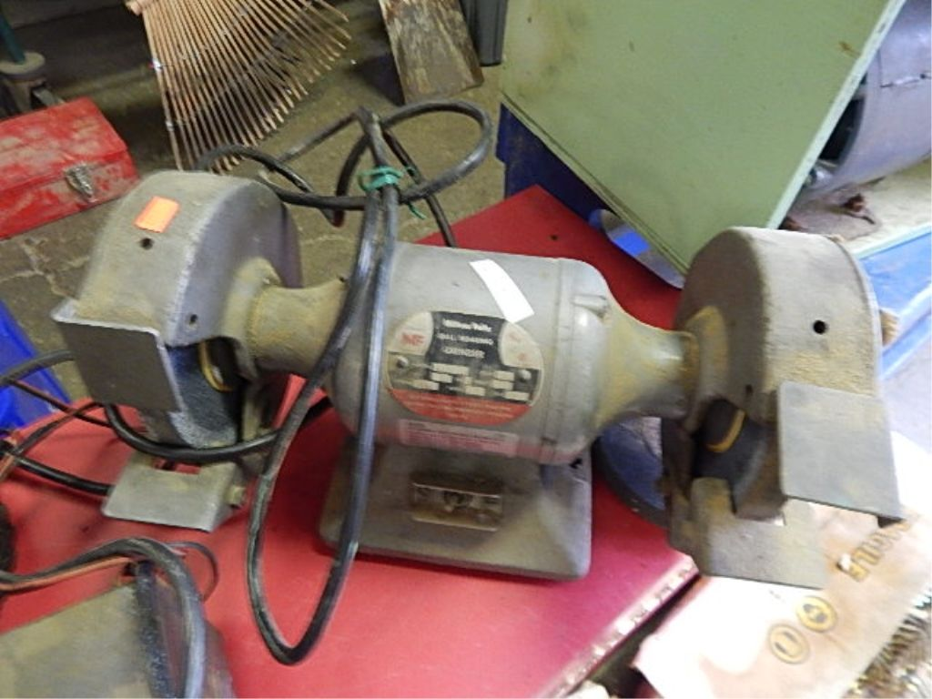Terrific Bench Grinder Double With Ball Bearings 1 Extra Stone Caraccident5 Cool Chair Designs And Ideas Caraccident5Info