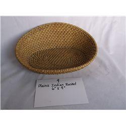 Plains Indian Basket