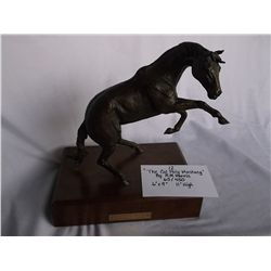 The Cal Poly Mustang Bronze