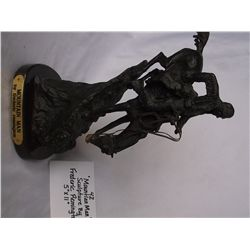 Mountain Man Bronze by Frederic Remington