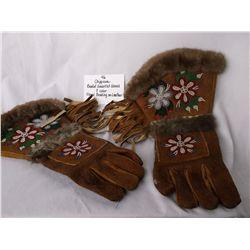 Chippewa Beaded Gauntlet Glove
