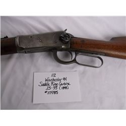 Winchester 94 Saddle Ring Carbine  .25-.35 (1898) #117785
