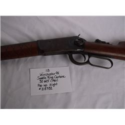 Winchester 94 Saddle Ring Carbine .30 WCF (1901)